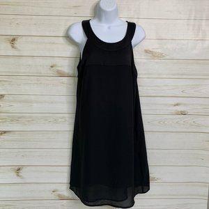Black sheer dress by H&M